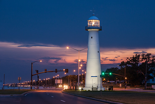 Biloxi Lighthouse Ron Buskirk Photography