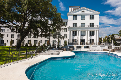 White House Hotel Pool Ron Buskirk Photography