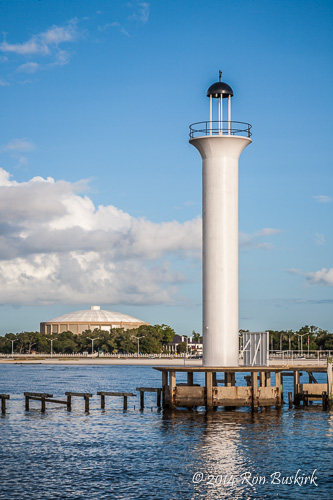 Old Broadwater Marina Lighthouse Ron Buskirk Photography